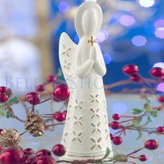 Belleek Living Christmas Angel - Christmas Decorations
