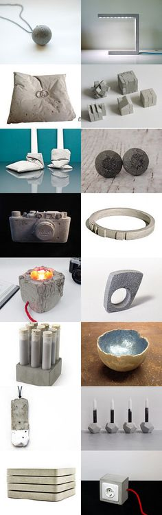 Concrete by 3buu on Etsy--Pinned with TreasuryPin.com