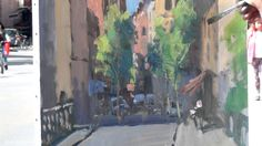 José SALVAGGIO plein air painting 17 Strasbourg view of the cathedral