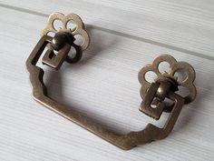 "2 3/4"" Drawer Pulls Handles Dresser Pull Bail Antique Bronze Black Copper Rustic Cabinet Handle Pull Old Furniture Decorative Hardware 70 mm"
