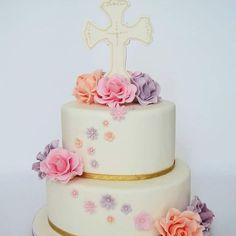 Christening cake - First Comunion - Cake by Clarita_bakingmama