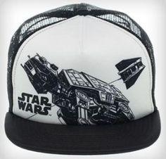 Star Wars AT-AT Trucker Mesh Hat. Star Wars Merchandise d02992b3651a