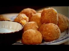 Abuelos Recipe:  Tapas and Small Bites with Chef Luis - Jalapeno Cheese Fritters
