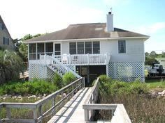 Edisto Realty - 3bd + loft/2ba Deepwater home - Edisto Beach, SC