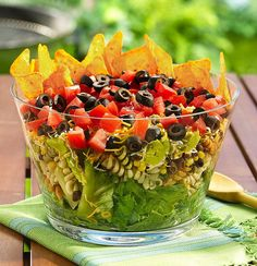 Layered Mexican Party Salad by Betty Crocker Recipes, via Flickr
