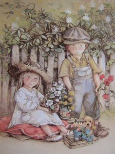 12 beaux tableaux de lisi martin - Page 6 Sarah Kay, Creation Photo, Spanish Artists, Holly Hobbie, Vintage Artwork, Pictures To Paint, Cute Illustration, Art For Kids, Drawings