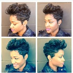 Yeeaaaa my hair has been like this 100000 times! Dope cut though