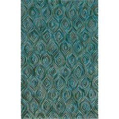 Shop Korhani Home  Korhani Robina Teal Area Rug at Lowe's Canada. Find our selection of area rugs at the lowest price guaranteed with price match + 10% off.