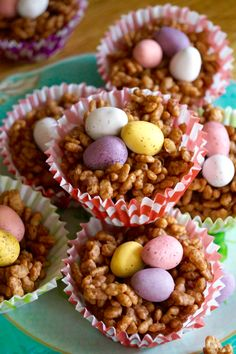 Easter Chocolate Nest Cakes