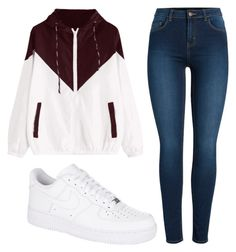 """""""casual"""" by clothes-and-clothes on Polyvore featuring Pieces and NIKE"""