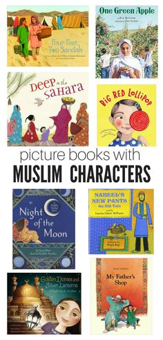 These 10 books all have two things in common; they are fun to read with your kids and are picture books with Muslim characters.