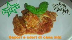 Ricetta veloce parmigiana di zucchine guardate la video ricetta sul nostro canale YouTube sapori e odori di casa mia