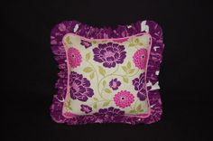 READY to SHIP decor pillow home decor 14x14 pink by LittleTouches3, $25.00