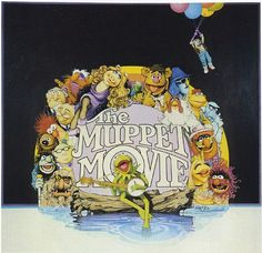 Richard Amsel's unused art for The Muppet Movie (1979) movie poster