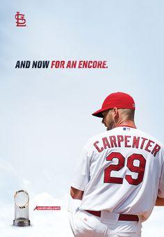 St Louis Cardinals Outdoor campaign 2012.