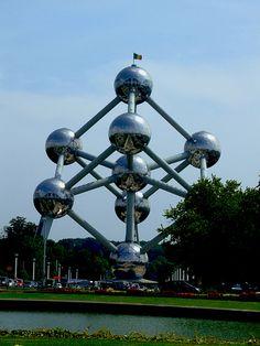 Atomium, Belgium Probably going here tomorrow or Wednesday(: