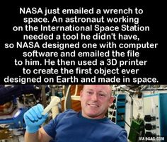 This is so amazing... think of the possibilities for future space development!
