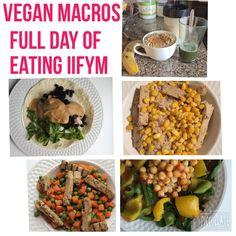 Vegan Macros - Full Day of Eating Vegan IIFYM Flexible Dieting #16 -HollyBrownFit.com
