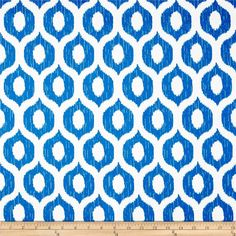 . This fabric can easily be cleaned by wiping down or hand washing with warm water and a mild soap solution, simply rinse with clear water to prevent dirt from embedding itself into the fabric. Colors include blue and ivory.