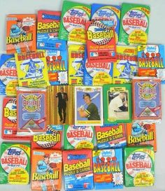 Huge Lot of Thirty(30) Original Unopened Factory Sealed Packs of Vintage Baseball Cards from the 1980's and 1990's. Includes Over 350 Cards. Look for Rookie Cards, Hall of Famers, Special Inserts and More ! Plus Include Special Exclusive Bonus Cards of Mickey Mantle, Nolan Ryan and Mark McGwire Rookie Card ! Packs are Fun to Open. Makes a Great Gift for all MLB Fans ! . $19.99. Wowzzer!! We Are Proud to offer this Massive Lot of THIRTY (30) Unopened Packs of Vintage Baseball ...