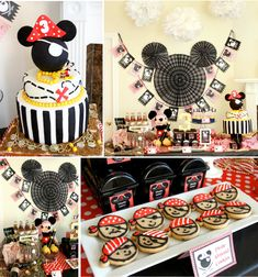 Mickey Mouse Pirate Themed Birthday Party Disney Black Red Yellow Kids Boy
