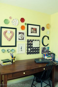 work space in play room