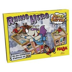 Rhino hero – super battle | Nature & Découvertes Old Games, News Games, Board Games For Kids, Games To Play, Stack Game, Battle Games, 12 Year Old, Family Games, Game Night