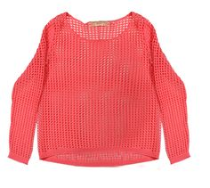 Tom Tailor Salmon mesh top