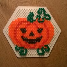Halloween perler beads by girl_power2014