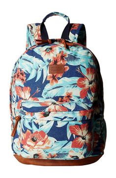 Rip Curl Mia Florez Backpack (Light Blue) Backpack Bags - Rip Curl, Mia Florez Backpack, LBPAB7-453, Bags and Luggage Backpack, Backpack, Bag, Bags and Luggage, Gift - Outfit Ideas And Street Style 2017