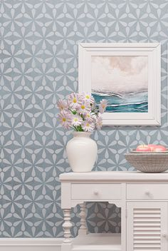 Looking to add comfort to your home?By choosing our floral walls stencil, you can easily enhance any living room, bedroom, or even office space with this serene