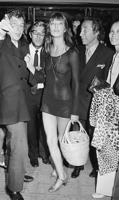 Before Rihanna, there was Jane Birkin.. the original cool cat. <3