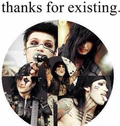 BVB yes!.!.!.! Thank u so much for existing. @Black Veil Brides