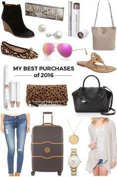My Best Purchases of 2016 - -- things I love and would totally buy again. All of these are tried and true and come highly recommended!