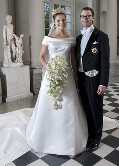 Princess Victoria & Prince Daniel of Sweden.