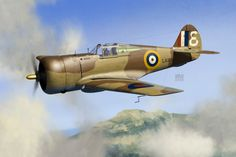 Curtiss Mohawk Mk IV, Sgt. D. Parsons, 1 OTU, Risalpur (India), 1942.