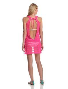 Mesh Dress in Pink Oakley Tank Mesh Dress #mesh_dress #pink_dress #dress #summer_dress