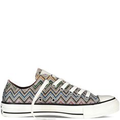 buy popular 60695 f6af7 Converse X Missoni Chuck Taylor All Star  converse  shoes Converse  Trainers, Grey Sneakers