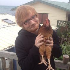 Ed Sheeran and his babygurl Gladys