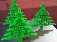 Christmas ornaments collection - Thingiverse