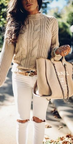 Nothing cozier than a chunky #sweater