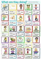 Free ESL worksheets for various language goals