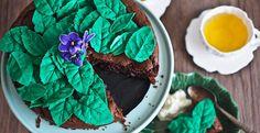 Nina, The Sticky Swedish Chocolate Kladdkaka Cake by Not Quite Nigella
