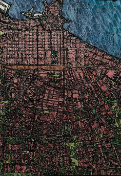 Mappa città di Bari (autore stefano brini)