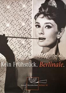 Posteritati: Berlinale (BREAKFAST AT TIFFANY'S) 1998 German 33x46
