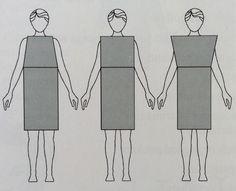 efeitos diferentes de formas abertas ou mais fechadas - na parte de cima