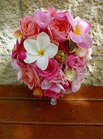 挙式&ビーチブーケ&花冠&リストレット の画像|aMuse vie Bridal♡VeraWang♡