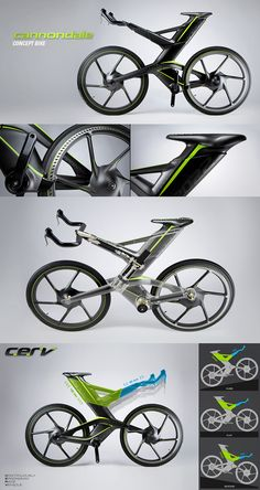 Cannondale Concept Bike...this is totally sweet!