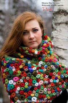 freeform shawl