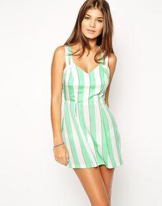 ASOS Candy Stripe Beach Dress